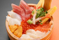 八色海鮮丼