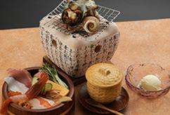 海花亭丼ぶりセット