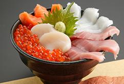 五福海鮮丼 A